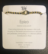 Load image into Gallery viewer, Epizo: Sterling Silver Greek Cord Bracelet