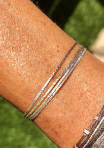 Sparkly Greek Cord Bracelet