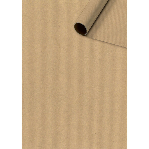 Roll Wrap 0.7x10m Recycled Brown Paper