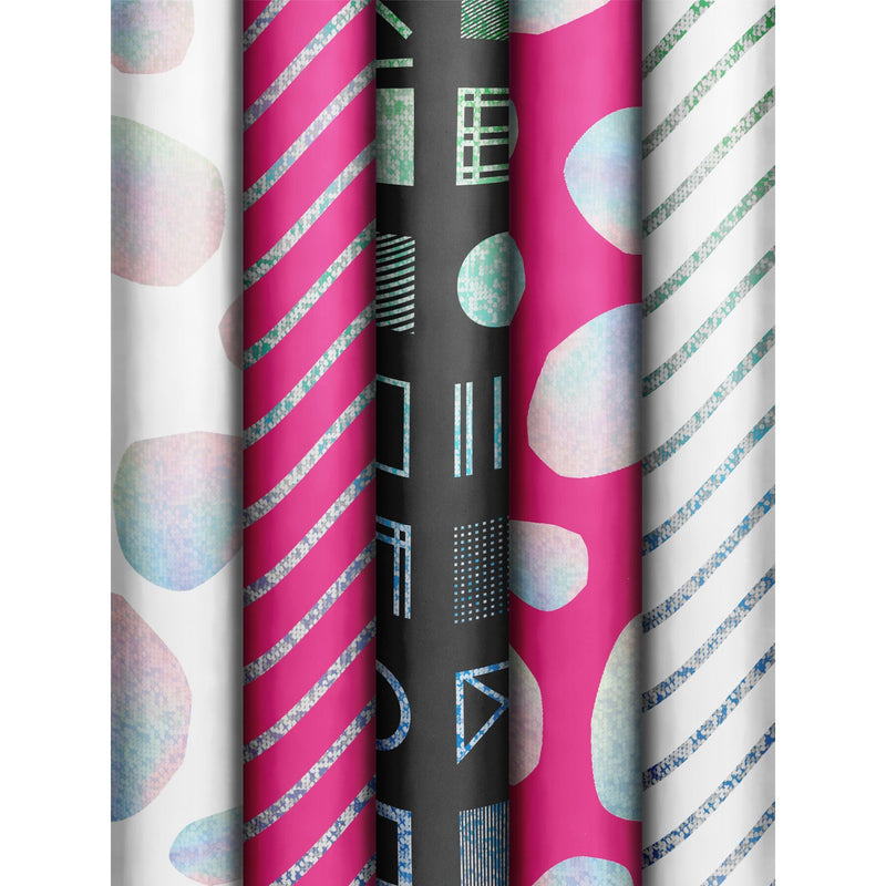 Roll Wrap Assortment 0.7x1.5m Luminous Patterns (Join Neo)