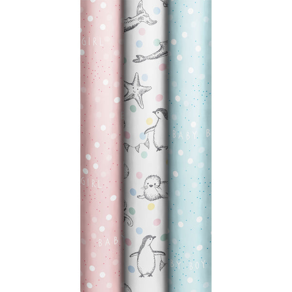 Roll Wrap Assortment 0.7x2m Little Peace (Lil & Dave)