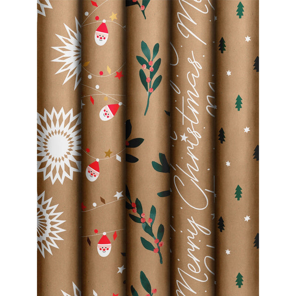 Roll Wrap Assortment 0.7x2m Natural Joy (GOG)