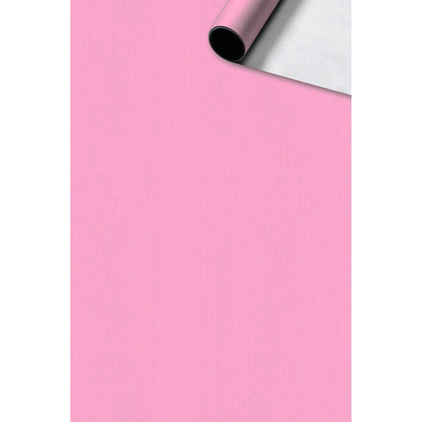 Roll Wrap 0.7x2m Uni Basic Pink