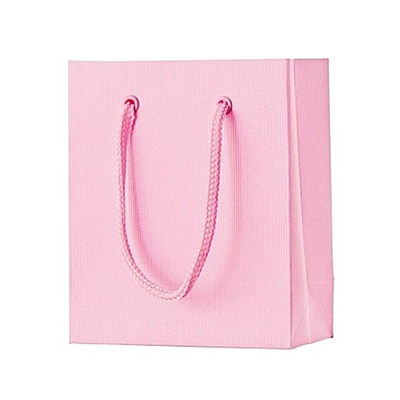 Gift Bags 12x6x14cm One Colour Pink