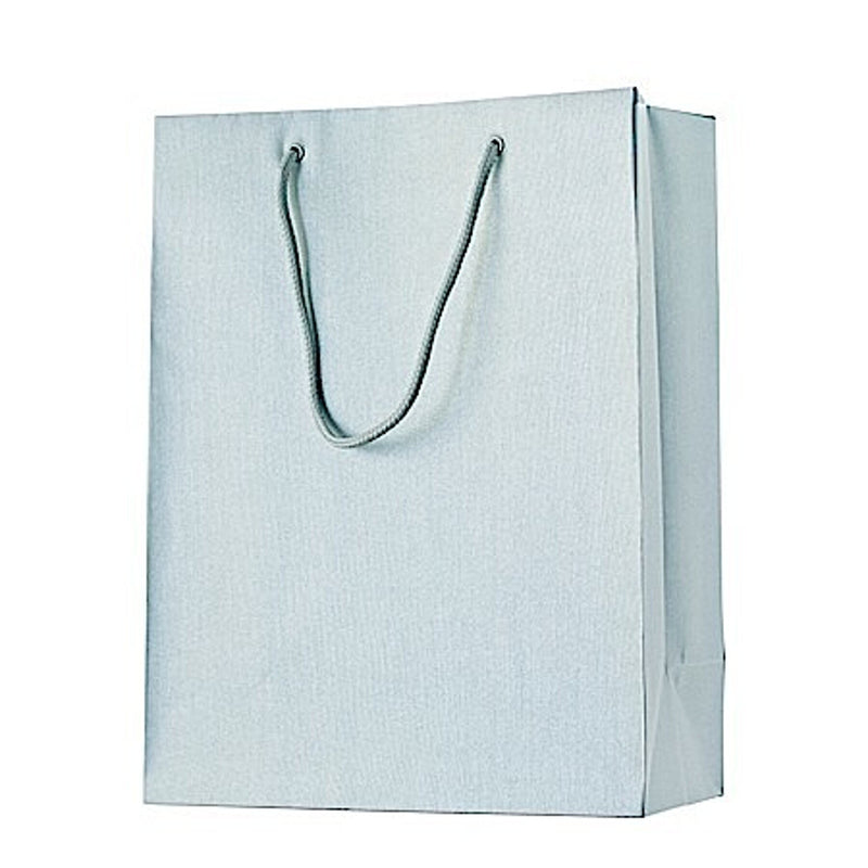Gift Bags 25x13x33cm One Colour Silver
