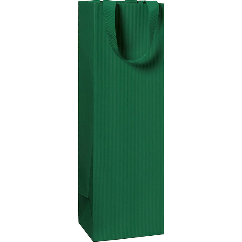 Plain Colour Bottle Gift Bags 11x10.5x36cm