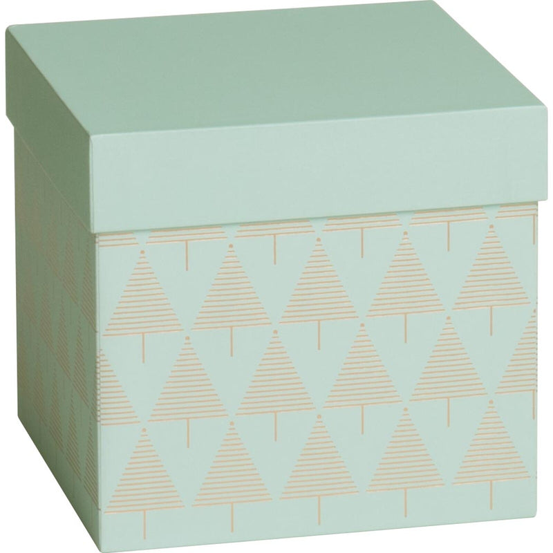 Gift Boxes Cube Eloise Mint
