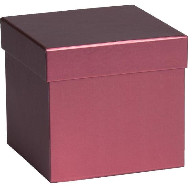 Gift Boxes Cube Sensual Colour Pink