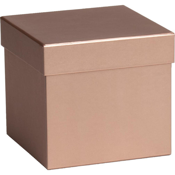 Gift Boxes Cube Sensual Colour Gold
