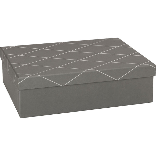 Gift Boxes 17x22.5x8cm Join Graphic Grey A5