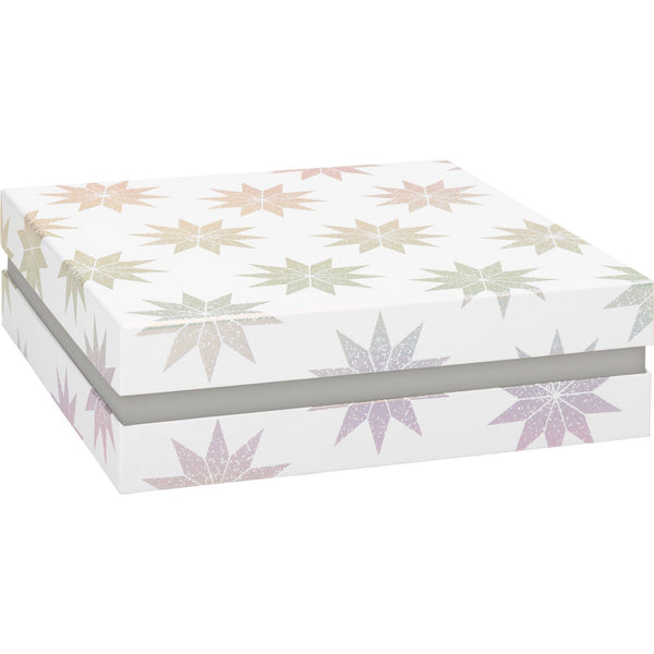 Gift Boxes 27.5x27.5x8.5cm Lucine White