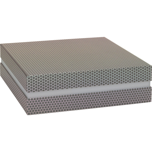Gift Boxes 27.5x27.5x8.5cm Lucine Grey