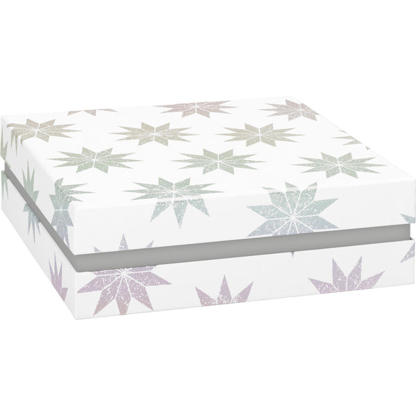 Gift Boxes 22.5x22.5x7.5cm Lucine White