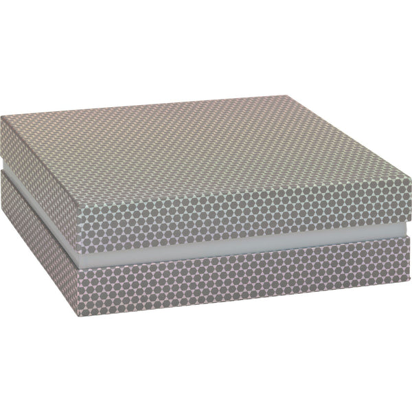 Gift Boxes 22.5x22.5x7.5cm Lucine Grey