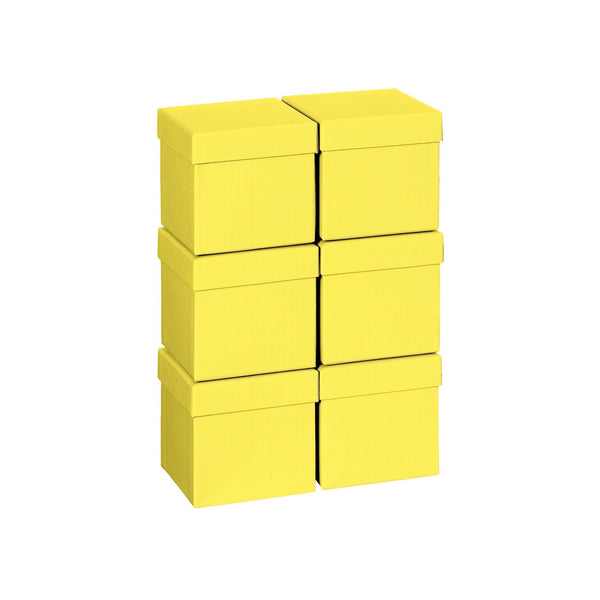 Plain Colour Gift Boxes 10cm Mini Cube