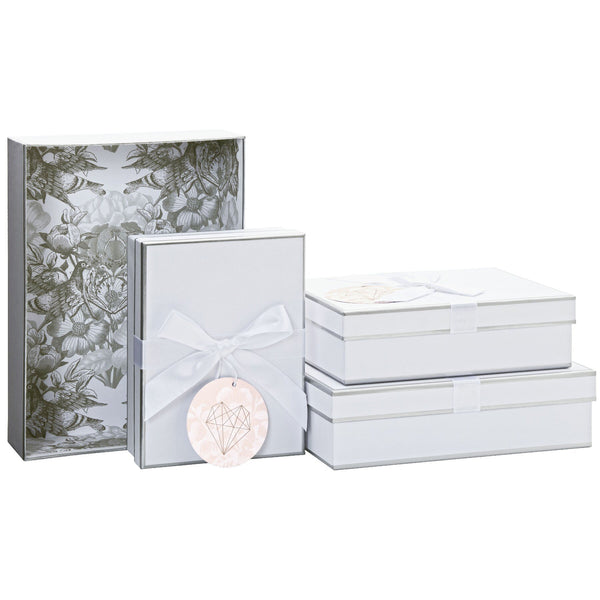 Gift Boxes 4 Part Set (Pearl)
