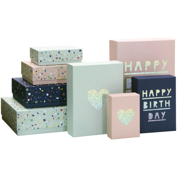 Gift Boxes 8 Part Set John