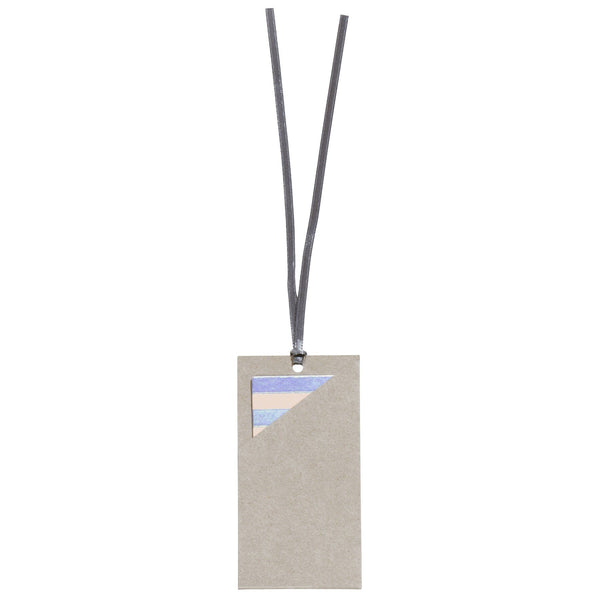 Gift Tag Set 10.5x13cm Care Grey (Patterns)
