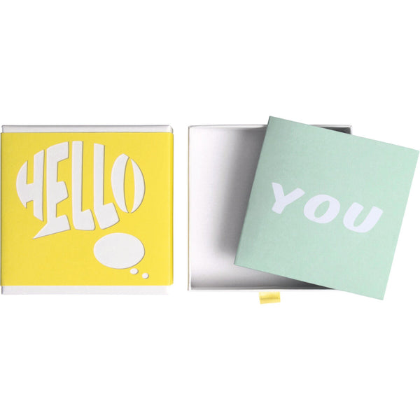 Message Gift Boxes 10.5x10.5cm Kiro
