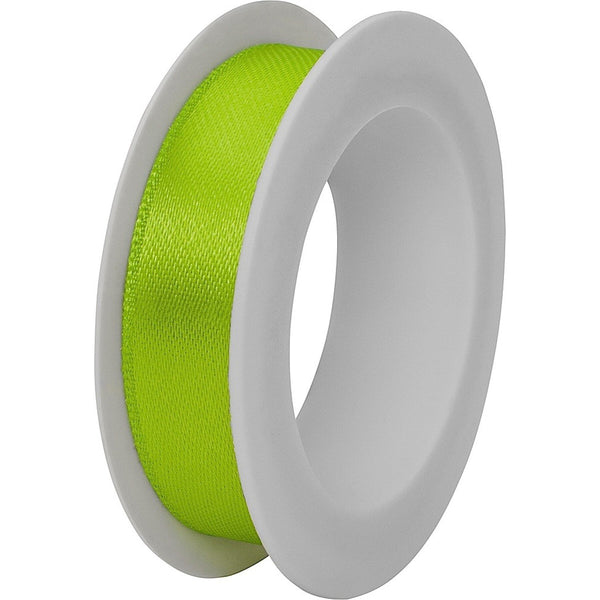 Double faced satin ribbon spool 15mm x 3m Light Green