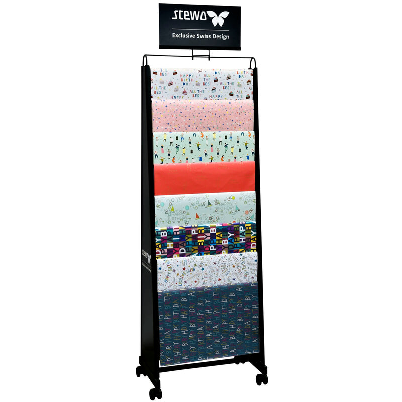 Flat Wrap Ladder Display Stand
