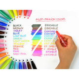 Pilot FriXion Colors Erasable Felt Tip Pen Display