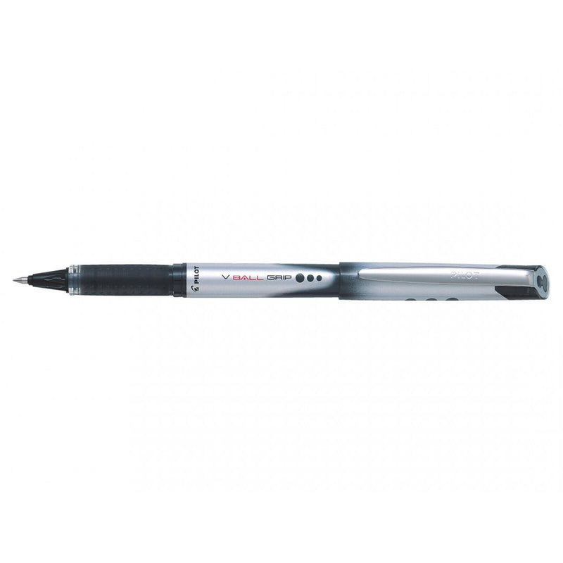 Pilot V Ball Grip 07 Liquid Ink Rollerball Medium Line Display