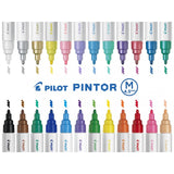 Pilot Pintor Marker Bullet Tip Medium Line Display