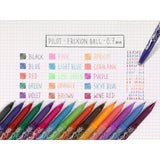 Pilot FriXion Rollerball Medium Line 5 Colour Display