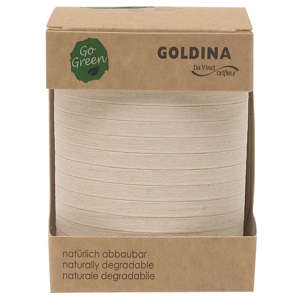 Nature Pack Cotton Ribbon Spool (GOG) 5mm x 200m