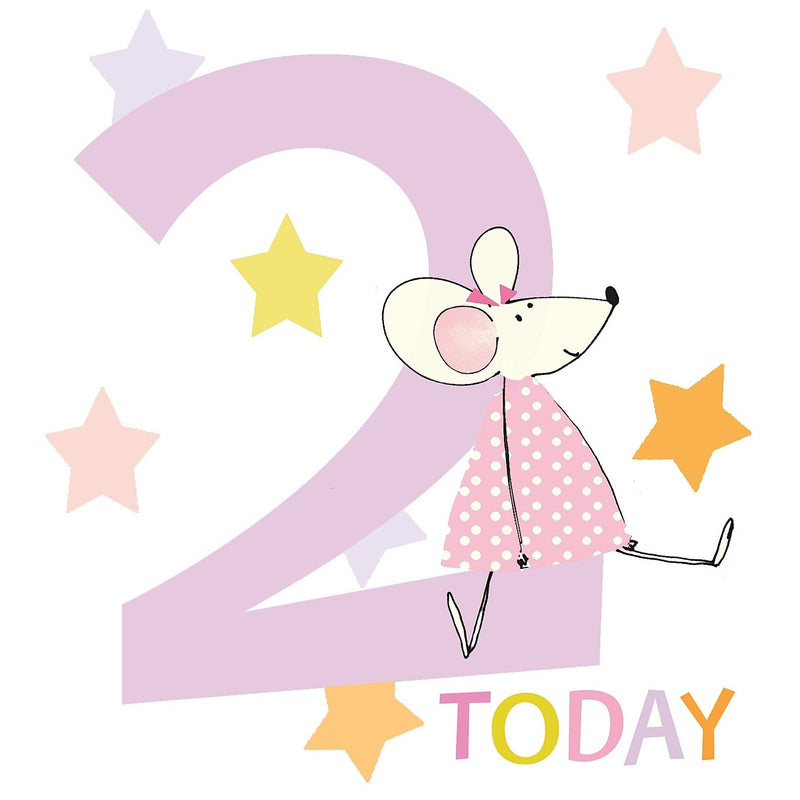Liz & Pip - Mouse age two 120x132mm (Count To Ten)