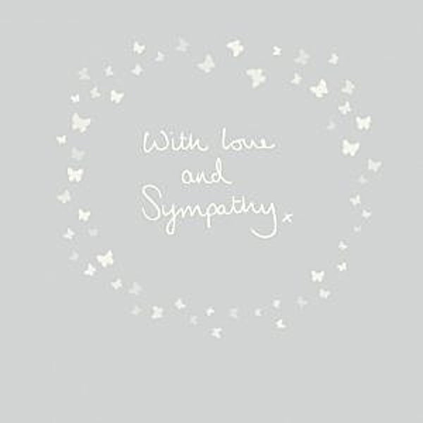 Ella Bella Rose - With Love & Sympathy 145mm x 145mm (IJ)