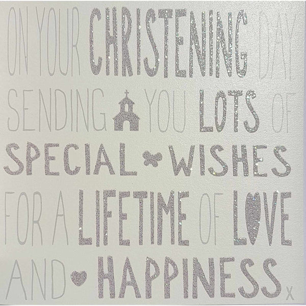Messages of Love - Christening 145mm x 145mm (IJ)
