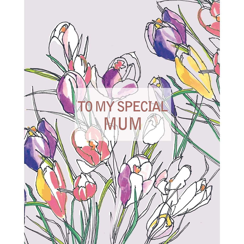 Liz & Pip - To My Special Mum Crocuses 120x150mm (Fiore)