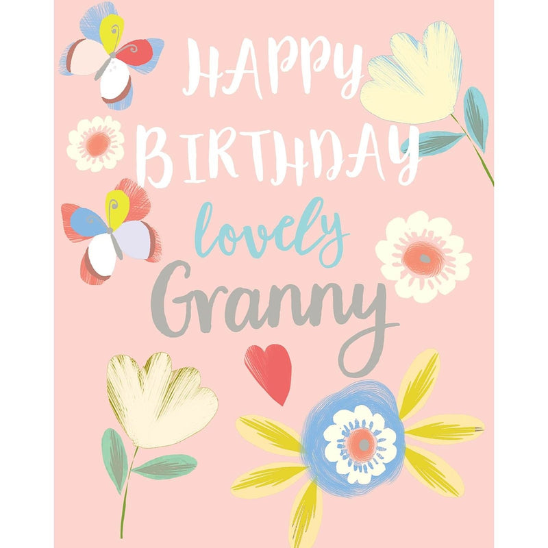 Liz & Pip - Granny Birthday (Focus) 120x150mm (Garden Party)
