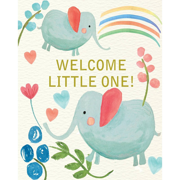 Liz & Pip - Welcome Little One 120x150mm (Joy)
