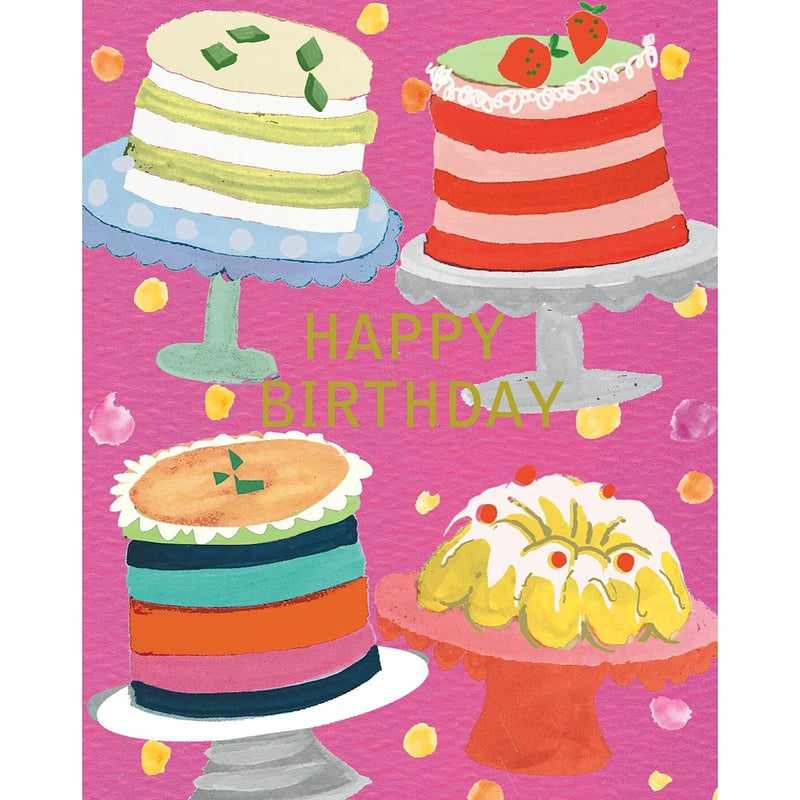 Liz & Pip - Birthday Cakes 120x150mm (Joy)