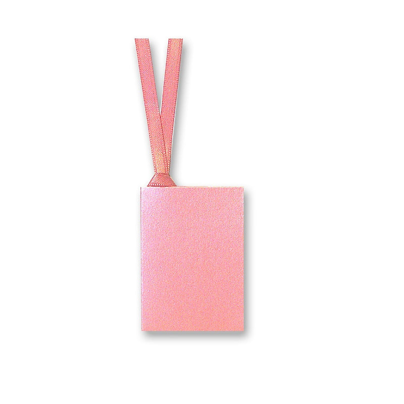 Pearlised Gift Tags 50x70mm with Ribbon