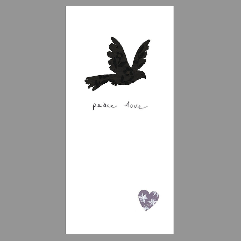 Woodland - Peace Dove 170mm x 90mm Flitter (IJ)