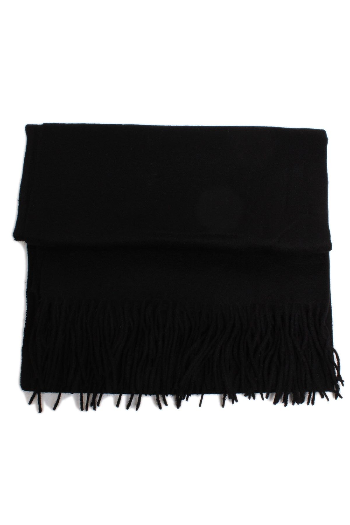 Black wool large  scarf