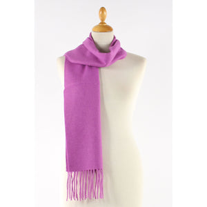 Lilac wool small  scarf