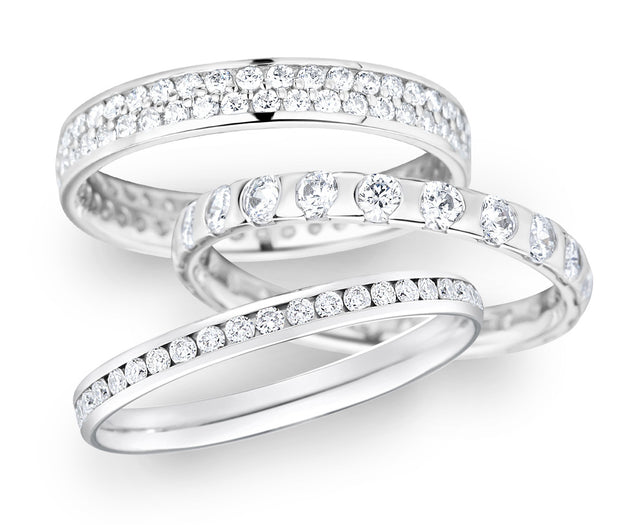Designer diamond wedding rings
