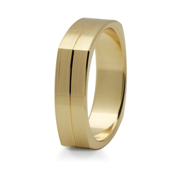 Squared Ring - 5mm - Doyle Design Dublin