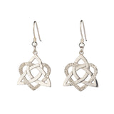 Heart of a celt Earrings - Silver - Doyle Design Dublin