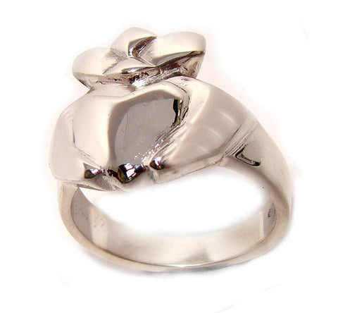 Contemporary Claddagh Ring