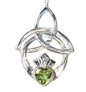 Traditional Claddagh Pendant designed by doyle design