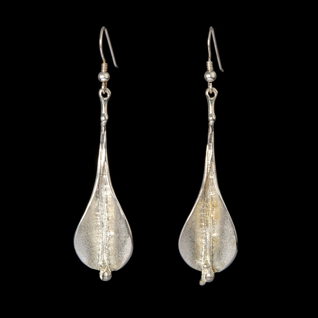Lilly Earrings in Silver - Doyle Design Dublin
