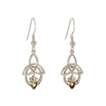 Trinity Knot Claddagh Earrings