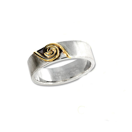deiseal gold and silver ring