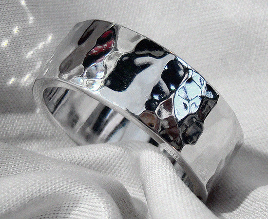 Hammered Ring - Doyle Design Dublin
